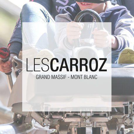 logo station carroz luge sur rail VR