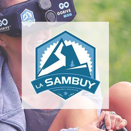 logo station sambuy luge sur rail VR