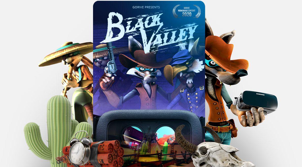 blackvalley est un jeu VR pour luge sur rail